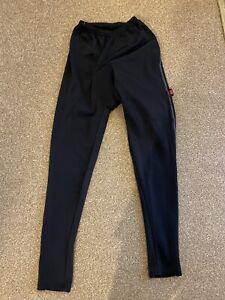 FJ'S Super Roubaix (XL) Ladies Unisex Black Padded Cycling Trousers / Pants