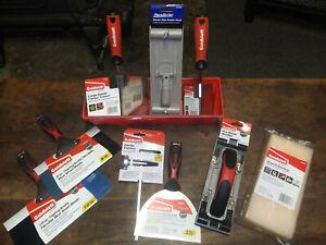 Pro Drywall Kit Patching Repair Sanding Ceilings Corners Trowel Taping Knives