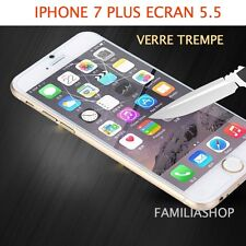 iPhone 7 PLUS VERRE TREMPE TRANSPARENT Film de protection écran 5.5