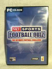 Sky Sports Football Quiz PC-Komplett-getestet working-Schnell UK Versand