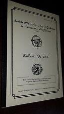 Société d'histoire de Fleurus - Bulletin n°31 1996 - Belgique