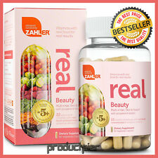 WOMENS Multivitamin Hair Skin Nails Whole Foods Superfood Supplement By Zahler