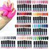 90Farbe UV&LED Gel Nagellack Set UV  Sealer Nail Art Maniküre Kit Tips DIY