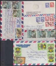 JAMAICA 1980's/90's COMMERCIAL COVERS TO AUSTRALIA (x5) (ID:621/D48168)