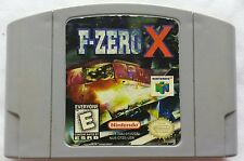F-ZERO X NINTENDO 64 N64 RARE VINTAGE VIDEO GAME WITH FREE SHIPPING @@@@@@@@@@@@