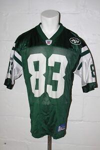 VTG Reebok New York Jets Randy Moss Green Football Jersey Sz M Medium