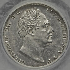 More details for 1831 william iv milled silver sixpence, lcgs 75