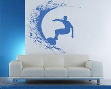 ik1115 Wall Decal Sticker surf board wave ocean Hawaii bedroom
