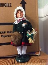 BYERS Choice Girl With Sweets  retired 2007