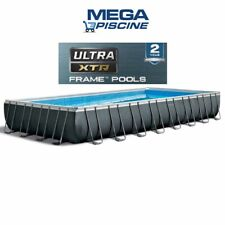 Piscina Fuoriterra Rettangolare Ultra Metal Frame INTEX 26374 - 975X488X132