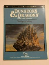 Dungeons and Dragons M3 Twilight Calling 9174