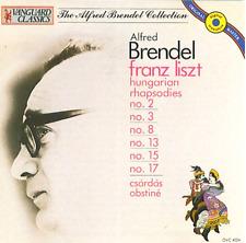 ALFRED BRENDEL Franz Liszt: Hungarian Rhapsodies/Csardas Obstine (CD 1991) GREAT