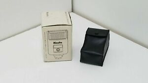 Minolta Auto Electroflash 25 with Case Black - P677