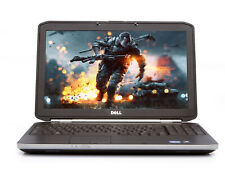 "Dell Gaming Laptop E5520 15.6"" Intel Core i3 2.20Ghz Win 10 HDMI"