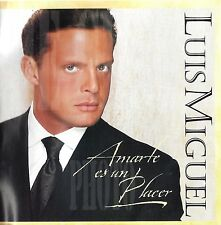 "Luis Miguel - CD""Amarte Es Un Placer"" Winner five Grammy and four Latin Grammy"