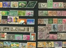 MALAYSIA and Sarawak a selection of used stamps to $2