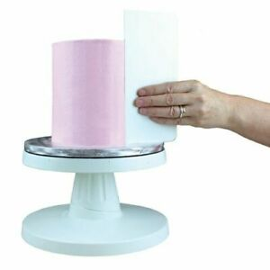 "PME Tall 8"" Plain Edge Side Scraper Icing Buttercream Smoother Cake Decorating"