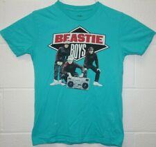 Chaser Brand Beastie Boys New York Rap Music Boom Box T Shirt Medium Aqua Blue