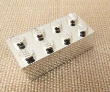 LEGO Silver, Gold, chrome, U CHOOSE Brick Tailpipe engine treasure chest plate