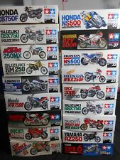 Lot 18 Tamiya  1/12 Scale Model Kit Honda CB750F / Ducati / Yamaha / Suzuki