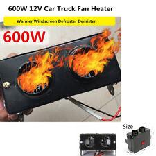 Portable 12V 600W Car Vehicle Heating Heater Fan Defroster Demister Warmer Safe