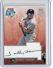 JOHNNY DAMON 2003 TOPPS OPENING DAY AUTOGRAPH AUTO -RED SOX!!