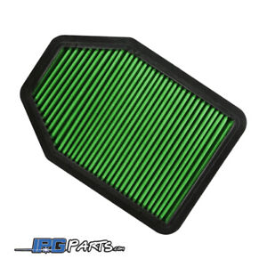 Green Drop In Replacement Air Filter Fits 2012-2018 Jeep Wrangler 3.6L V6
