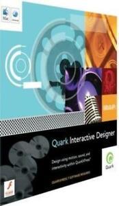 Quark Interactive Designer PC MAC CD design using moton sound interactivity tool