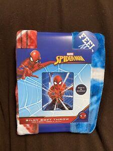 SPIDERMAN Silky Soft Throw