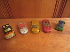 Mix Lot Of 5 Diecast Cars Kid Toys Matchbox Truck Corvette Porsche BMW Smart Car