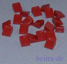 1x1x2//3 transparent rot // 54200 NEUWARE LEGO 10 x Dachstein 30 Grad a3