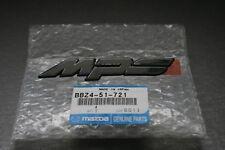 Genuine Mazda 3 MPS front grille badge logo emblem BBZ451721