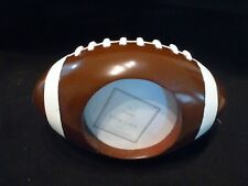 Football Shaped Standing Photo Picture Frame 3x3 by Sonoma - Measures 6 x 3 1/2