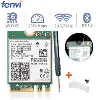 Intel AX210NGW Wifi 6E AX Wireless M.2 NGFF Dual Band Network Card Bluetooth 5.2