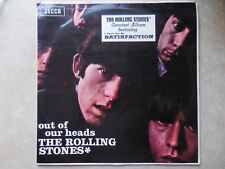 THE ROLLING STONES OUT OF OUR HEADS ORIG MONO 1965 NEW ZEALAND RED DECCA ALBUM