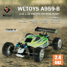 WLtoys A959-B 1:18 RC Car 4WD 2.4GHz Off Road 70KM/H High Speed Vehicle Toy UK