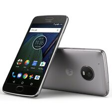 New Motorola Moto G5 Plus Grey Xt1686 32GB 4G Dual Sim 12MP Unlocked Smartphone