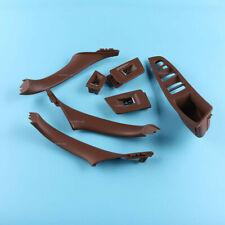 Brown Door Handle Recessed Grip Switch Panel Set For BMW 525d xDrive 530d xDrive