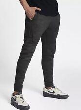 New Nike Sportswear Tech Fleece Pants Midnight Fog/Black 863515 038 Men's sz L