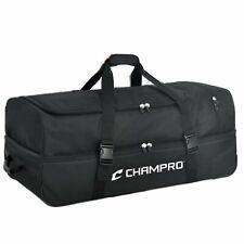 Champro | E51 | Baseball Softball Umpire Equipment Bag Black | Official's Choice