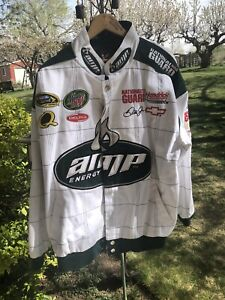 Nascar Chase Authentic Dale Earnhardt Jr 88 National Guard AMP Energy Jacket  LG