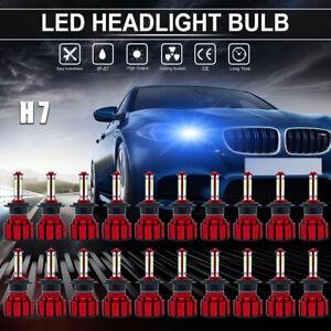 Wholesale 20pc H7 8000K Blue 120W 32000LM LED Headlight Kit Fog light Hi-Lo Beam