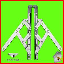"PVC Window Hinge Friction Stay UPVC Window Hinges Pair 8"",10"",12"",16"",20"",24"""