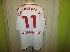 """Hamburger SV Fila Heim Trikot 1998/99 """"HYUNDAI"""" + Nr.11 Kirjakow Gr.L- XL"""
