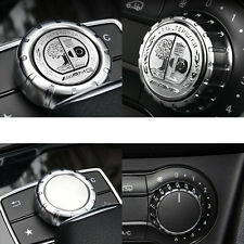 1 Ps Multimedia Control Badge Alloy OEM AMG Sticker Badge Logo For Mercedes Benz