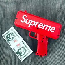 Supreme Money Gun Cash Cannon Money With 100 Papers Cash Tricky Toys AUS Stock