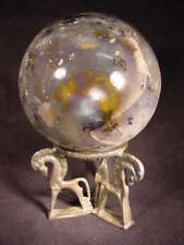 """BUTW  5.3"""" gorgeous agate sphere lapidary 6708A dl"""