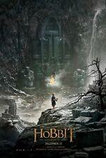 Hobbit 2 Desolation of Smaug - original DS movie poster - D/S 27x40 Adv
