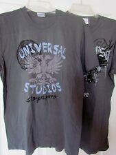 Universal Studios Singapore NEW Adult MEDIUM T-shirt 2 Lot NWOT Dragon distress