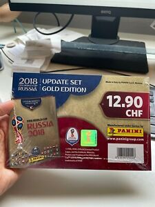 2018 Panini Russia FIFA World Cup Soccer Update set- SWISS GOLD EDITION